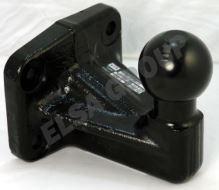 Ťažné zariadenie Iveco Daily valník 1989-1999, přírubový čep 4 šrouby, BRINK
