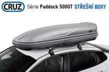 Strešný box CRUZ Paddock 500N sivý texturovaný