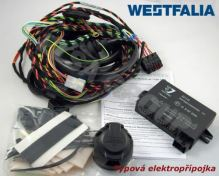Typová elektroinštalácia VW Golf HB 2014- (VII), s přípravou, 13pin, Westfalia