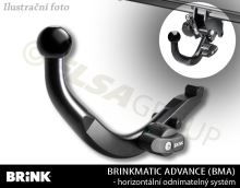 Ťažné zariadenie Honda Civic 5dv. 2011-2014, odnímatelný BMA, BRINK
