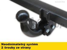 Ťažné zariadenie Audi A3 Sportback 2008-2013 (8PA), pevné, -