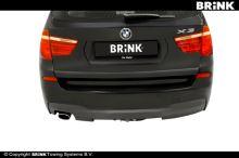 Ťažné zariadenie BMW X3 2014- (F25) , automat sklopný, BRINK