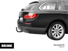 Ťažné zariadenie BMW 5-serie Touring (kombi) 2010/09-2014/02 (F11), odnímatelný vertikal, BRINK