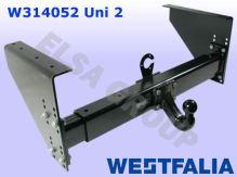 Ťažné zariadenie UNI 2 (bez čapu 329062)