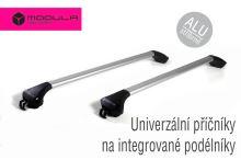 Strešný nosič na integrované pozdĺžniky - ALU strieborný