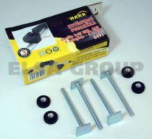 Hakr adaptér pre upevnenie do T drážky 80 mm (pre zvyšovacie podložky)