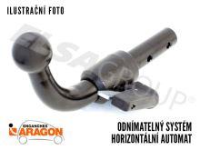Ťažné zariadenie Audi A1 HB (3dv.) 2010-2018, bajonet, Aragon