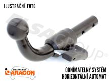 Ťažné zariadenie Audi A5 Cabrio 2009-2017 (8F7), bajonet, Aragon