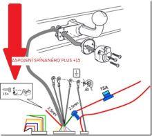Elektroinštalácia 13pin uni. CC/CAN-BUS, MINI