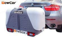 TowCar TowBox V2 šedý, na ťažné zariadenie